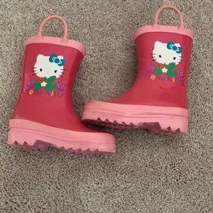 Other - HelloKitty Rain Boots toddler size 7